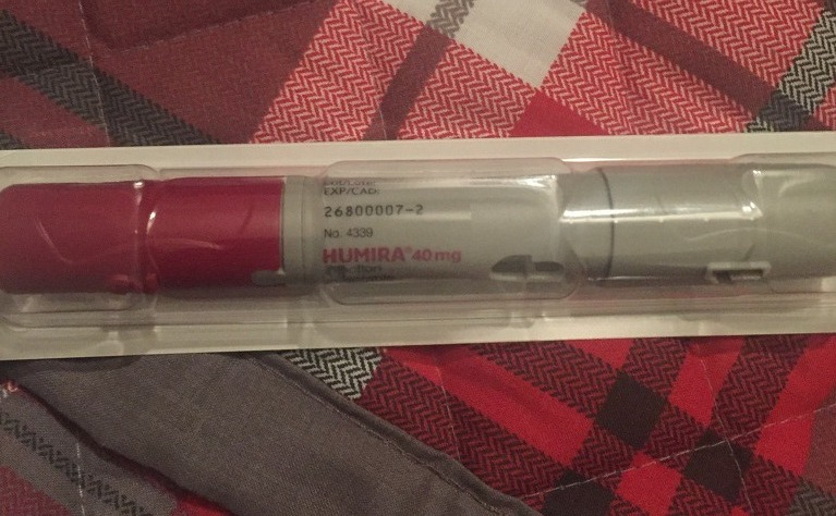 Humira pen in packet