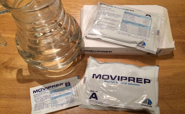 Moviprep bowel prep for colonoscopy