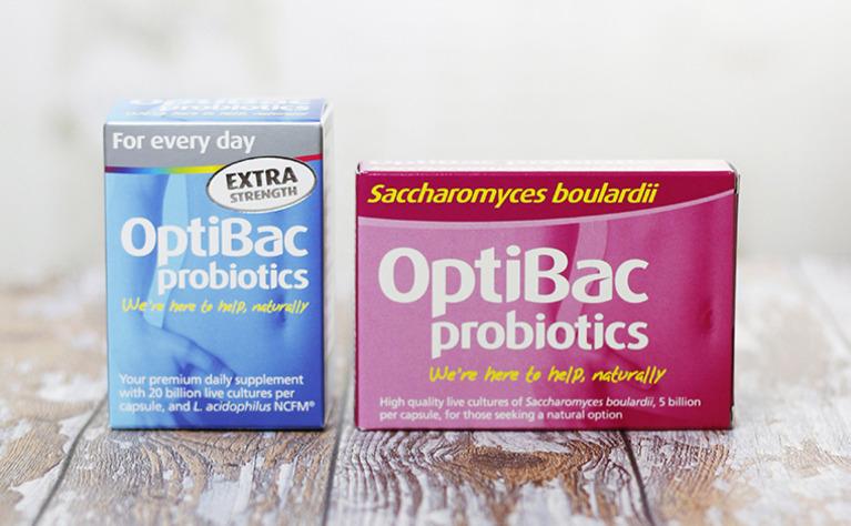 OptiBac Probiotics for ulcerative colitis and Crohn's disease