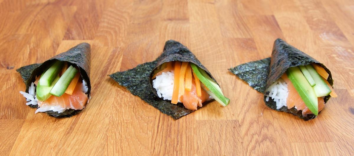 Sushi Cut & Handrolls Recipe — Dishmaps